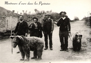 bear trainers of Ariege